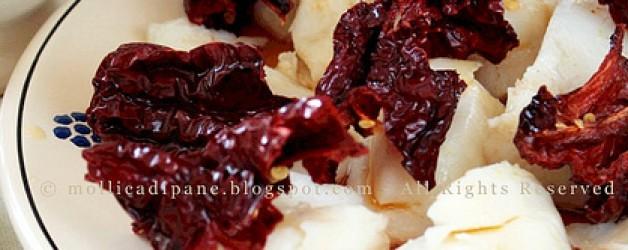Baccalà con i peperoni cruschi