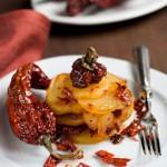 Patatate e peperoni cruschi