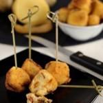 Polpettine impanate di patate e peperoni cruschi
